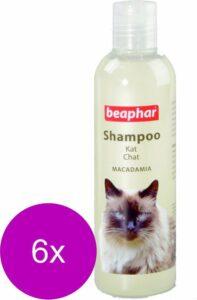 Beaphar Shampoo Macadamia Kat - Anti vlooienmiddel