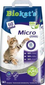 Biokat's Micro Classic - kattenbakvulling - 14 L