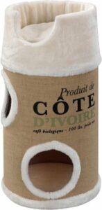 D&D Cote Ivoire - Krabton - Crème - 34 x 34 x 72 cm