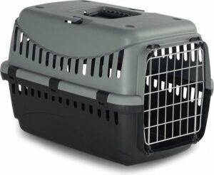 ECO Transportbox Gipsy L 58x38x38 cm - kat of kleine hond - Groen
