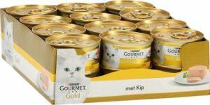 Gourmet Gold Mousse - Kip - Kattenvoer - 24 x 85 g