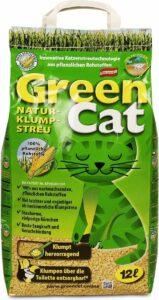 GreenCat composteerbare kattenbakvulling klontvormend 12L