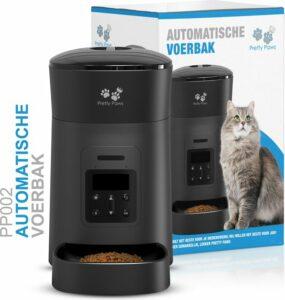 Pretty Paws® - PP002 Professionele Automatische Voerbak - Instelbaar voedingsschema - Voerautomaat - Voerbak Kat Automatisch