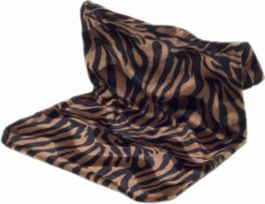 Radiator hangmat Bonfire zebra zwart-bruin