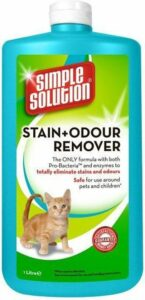 Simple solution stain & odour vlekverwijderaar kat navulling 1 ltr