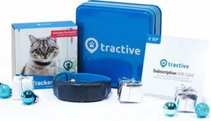 Tractive Geschenkbundel - Tractive GPS Tracker - Kat - GPS Halsband met Veiligheidsslot