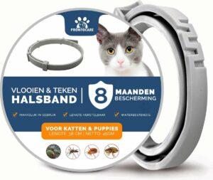 Vlooienband Kat - Anti Tekenmiddel - 8 Maanden Bescherming - Premium