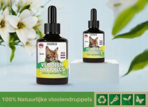 Biologische vlooiendruppels voor katten